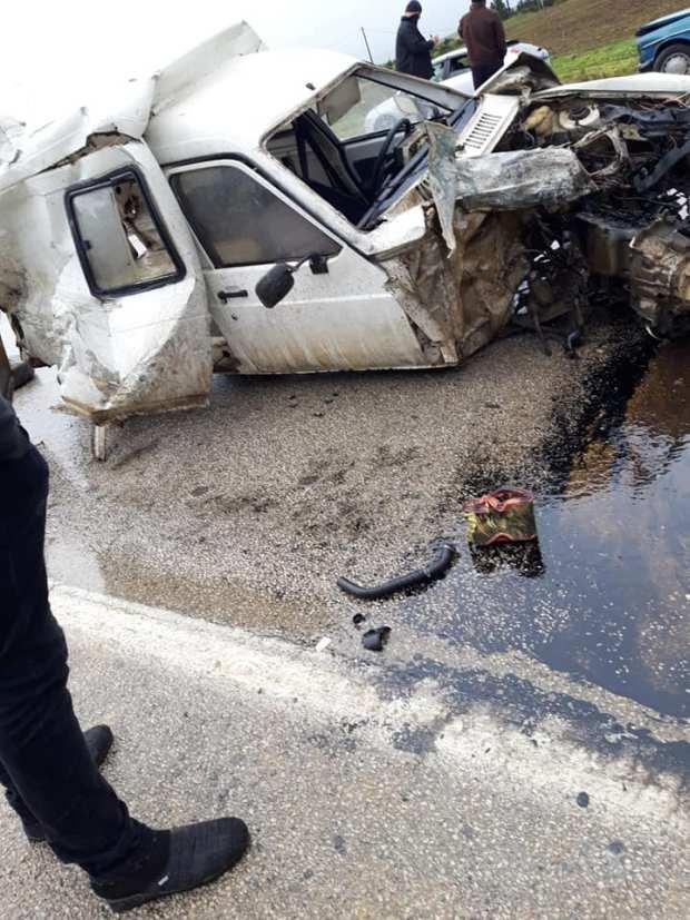 بالصور.. حادثة سير خطيرة بين طنجة وتطوان