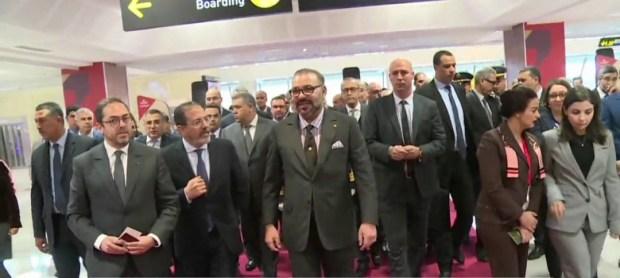 تعزيز شبكة مطارات المملكة.. الملك يعطي انطلاقة تشغيل عدد من البنيات التحتية لمطارات أكادير وكلميم والرشيدية وزاكورة