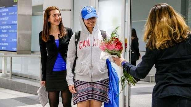 الفتاة السعودية اللاجئة في كندا: سأكافح من أجل تحرير النساء في العالم (فيديو)