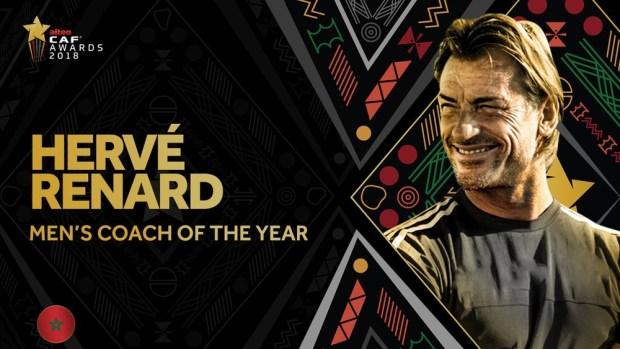 رونار سعيد بتتويجه كأحسن مدرب إفريقي: أعدكم بالأفضل