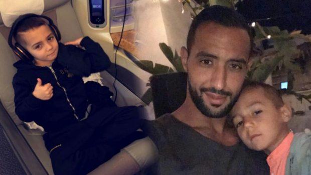 بالصور من دبي.. بنعطية يحتفل بعيد ميلاد ابنه قيس بحضور رونالدو الصغير