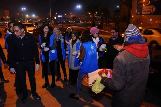 وجبات وألبسة وأغطية.. جمعية تدفئ أطفال الشوارع في مراكش