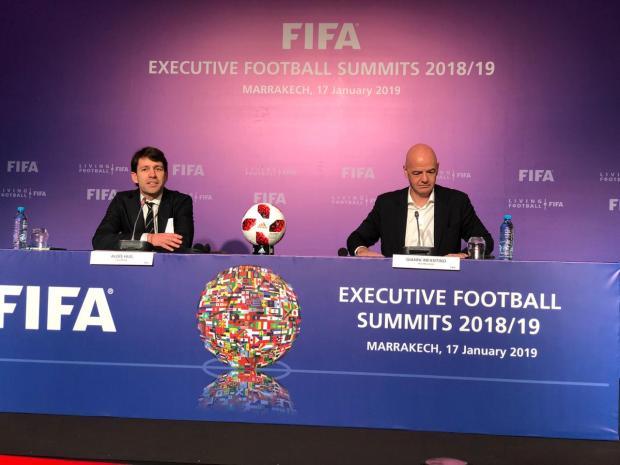 إنفانتينو: التنظيم المشترك للمونديال بين إسبانيا والمغرب والبرتغال سيكون له سحر خاص