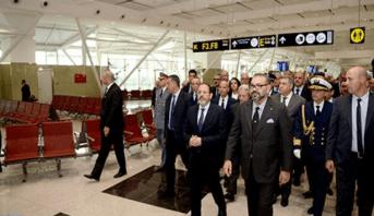 بطاقة إستيعابية تصل إلى 14 مليون مسافر سنويا.. الملك يدشن المحطة الجوية 1 الجديدة لمطار محمد الخامس