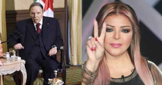 """ما عجبهاش ترشح بوتفليقة.. الفنانة فلة الجزائرية تدعو إلى انتفاضة """"سلمية"""" (فيديو)"""