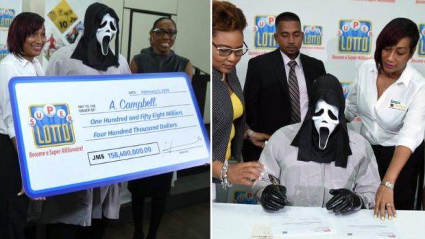 ما بغاش يسلف عائلتو.. جامايكي يفوز بمليون دولار ويستلمها متخفيًا! (صور)