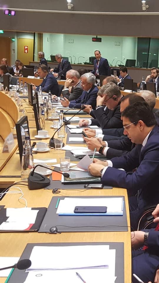 بالصور من بروكسيل.. بوريطة يشارك في الاجتماع الوزاري الاتحاد الأوروبي- جامعة الدول العربية