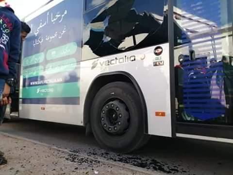 آسفي.. السجن والغرامة لمخرب حافلة جديدة للنقل الحضري
