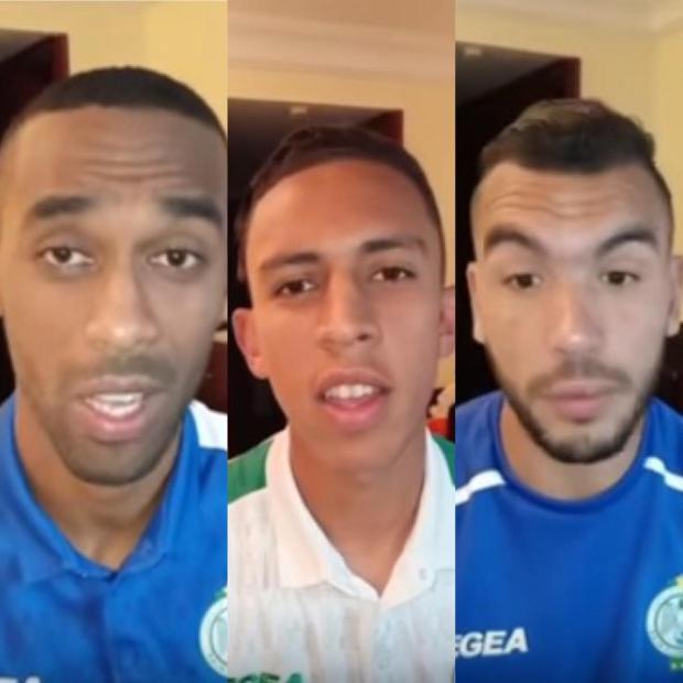 لاعبو الرجاء يوجهون رسالة مؤثرة إلى الجمهور: صبروا علينا وحسوا بينا راه ما زال الخير القدام (فيديو)