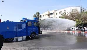الأمن الوطني: فض مسيرة الأساتذة تم في إطار القانون… و5 أمنيين أصيبوا في الأحداث