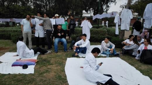 مستشفى ابن رشد/ كازا.. اعتصام جماعي لأطباء القلب والشرايين