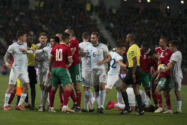 أتت الرياح بما لا تشتهي الأسود.. المنتخب الأرجنتيني يفوز بهدف نظيف على المنتخب المغربي (صور وفيديو)