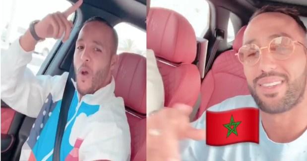 بانت عليه الفرحة.. بنعطية رجع واحد آخر في قطر (صور وفيديو)