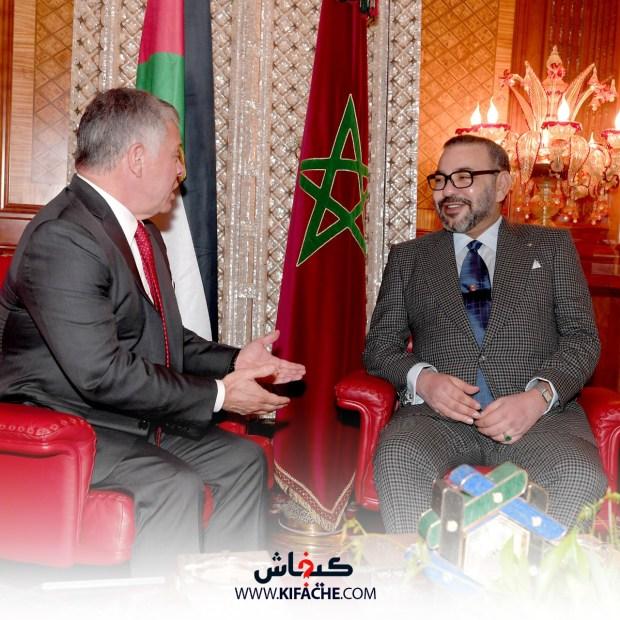 بنحمو: الملك والعاهل الأردني عبرا عن مواقف قوية في ملفات الشرق الأوسط ومكانتهما بارزة في نصرة القضايا العربية