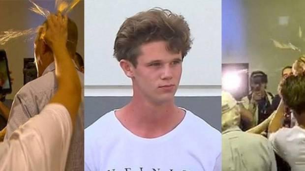 """يعتزم التبرع لضحايا مسجدي نيوزيلندا.. الشرطة تخلي سبيل """"فتى البيضة"""""""