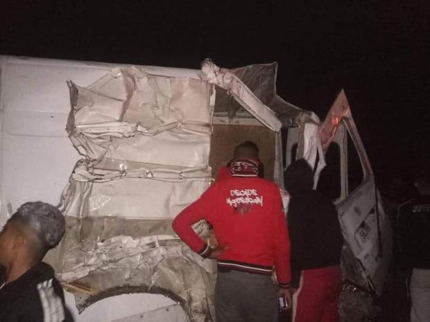 كانوا راجعين من أكادير.. مشجعون وداديون يتعرضون إلى حادثة سير خطيرة (صور)