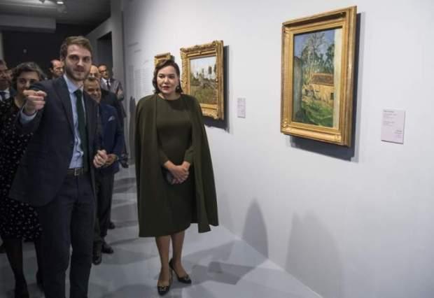 """الرباط.. الأميرة للا حسناء تترأس افتتاح معرض """"ألوان الانطباعية.. أروع الأعمال الفنية لمتحف أورساي"""""""