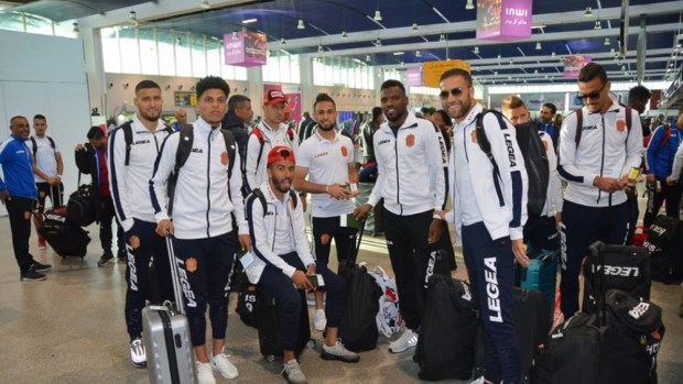 قبل ربع نهائي الكاف.. الشرطة المصرية توقف لاعب حسنية أكادير  في مطار القاهرة