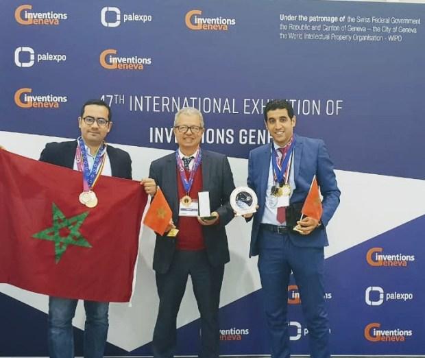 المغرب يواصل تألقه العلمي.. مغاربة يتوجون بأغلب جوائز المعرض الدولي للاختراعات في جنيف (صور)