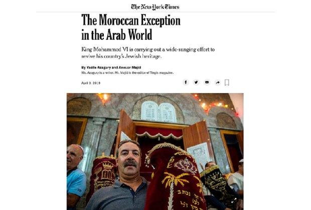 """ثقافة التعايش والتسامح.. """"نيويورك تايمز"""" تسلط الضوء على """"الاستثناء المغربي في العالم العربي"""""""