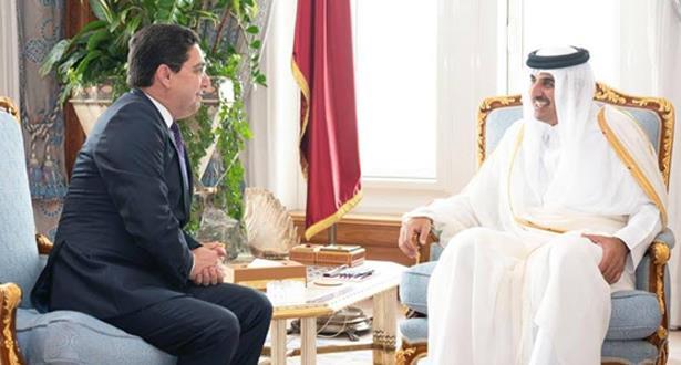 نقلها بوريطة.. رسالة من الملك إلى أمير دولة قطر