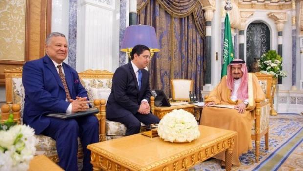 سلمها بوريطة.. رسالة من الملك إلى العاهل السعودي