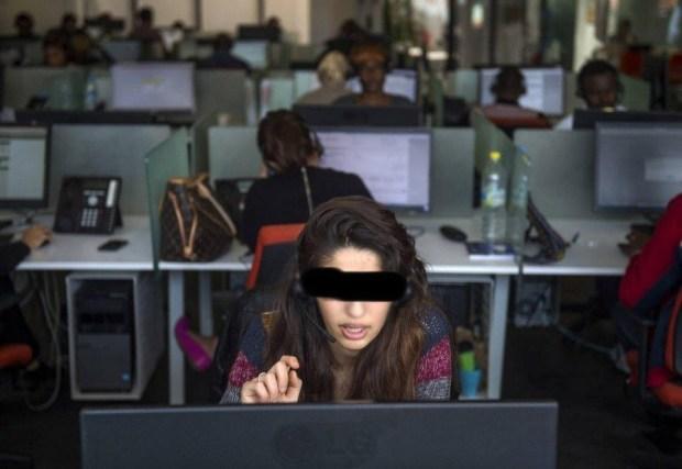 بسبب قرصنة المكالمات الهاتفية.. توقيف 8 مستخدمات في مركز نداء غير مرخص في خريبكة