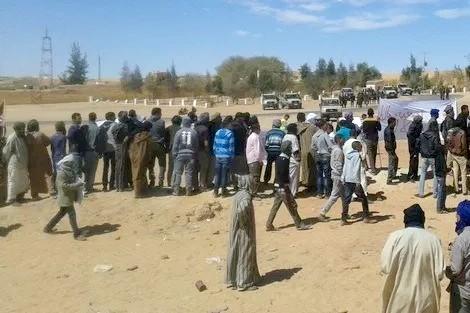 الاحتجاجات والوضع الإنساني في مخيمات تندوف.. غوتيريس يفضح البوليساريو أمام مجلس الأمن