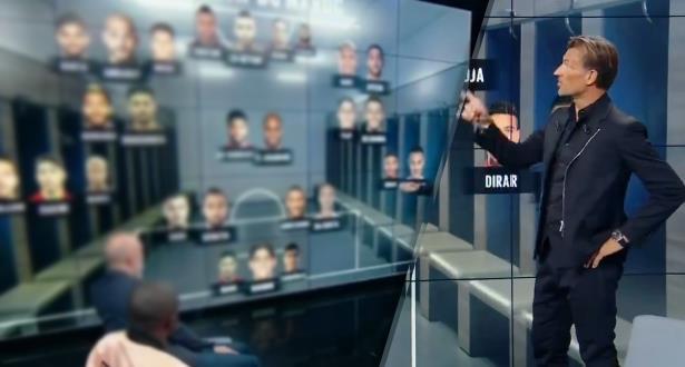 """في برنامج فرنسي.. رونار يعلن لائحة المنتخب الوطني للـ""""كان"""""""