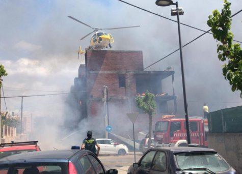 بالفيديو من إيبيزا.. إصابة 3 مغاربة في حريق مهول اندلع في مبنى