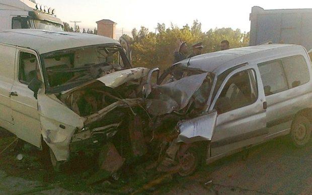 بنسليمان.. مصرع 4 أشخاص وإصابة 3 في حادثة سير