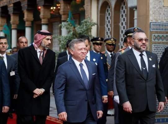 بالفيديو.. ملك الأردن يشكر محمد السادس على مواقفه الداعمة لنصرة القدس