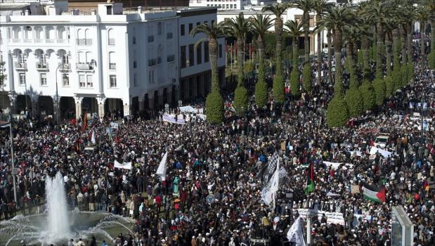 """لرفض """"صفقة القرن"""" ومقاطعة ورشة المنامة.. دعوات لتنظيم مسيرة وطنية في الرباط"""