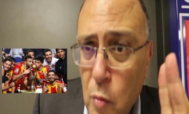 جبد حتى الرجاء البيضاوي.. رئيس اللجنة القانونية بالترجي قرب يبكي