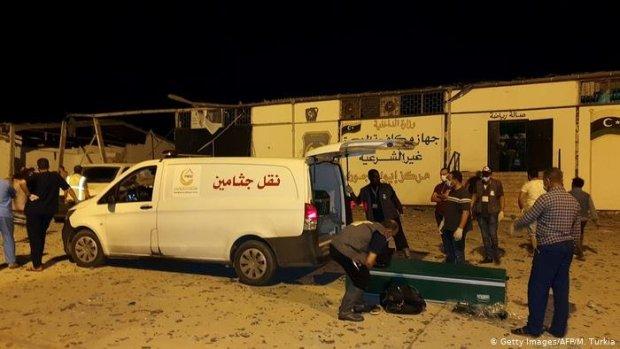 قصف مركز للهجرة غير النظامية في ليبيا.. ارتفاع عدد المغاربة المصابين