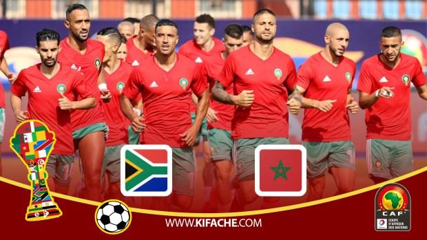 بث مباشر : جنوب أفريقيا – المغرب | كأس الأمم الأفريقية 2019