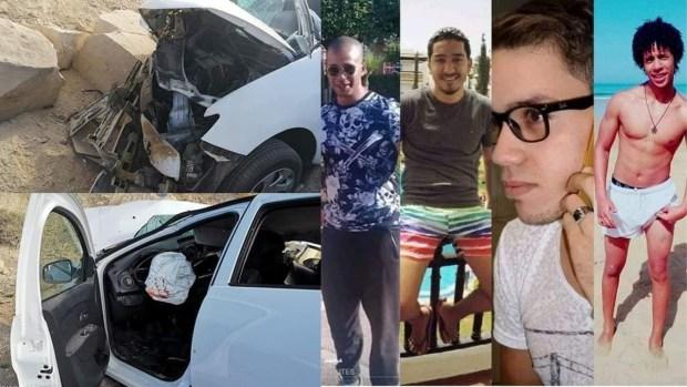 كانو بغاو يصيّفو فالصويرة.. القصة الكاملة لمقتل 4 مغاربة وإصابة سائحة فرنسية في حادث سير