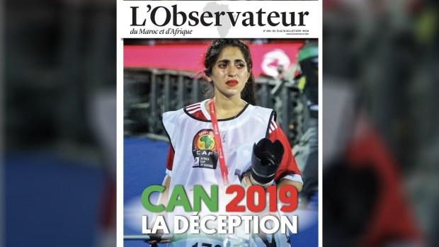 """حطمت القلوب بدموعها الصادقة.. صفاء سيراج الدين على غلاف مجلة """"لوبسيرفاتور"""""""