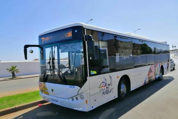 غادي يبداو اليوم.. حافلات جديدة في خدمة سكان الرباط (صور)