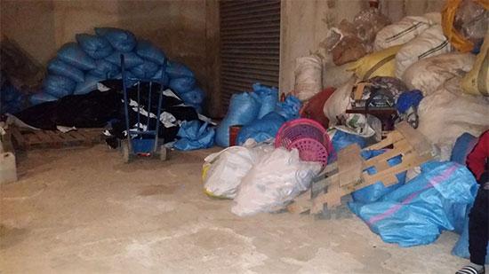 الميكا دايرة حالة فالمحمدية.. حجز أزيد من 4 أطنان من الأكياس البلاستيكية في مستودعين سريين