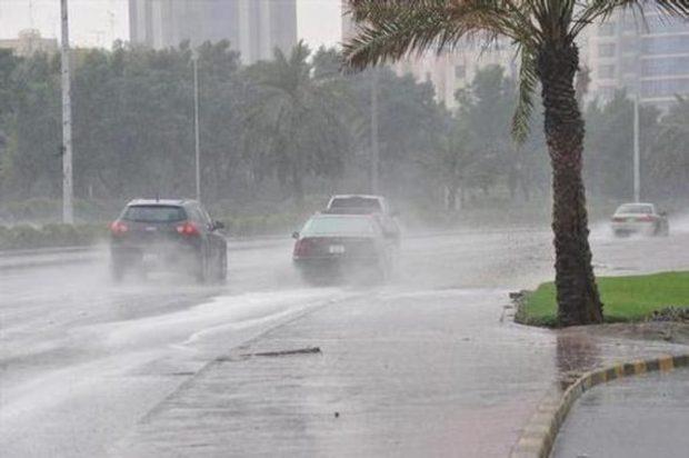 ردو البال.. زخات مطرية رعدية وبرد ورياح في عدد من مناطق المملكة