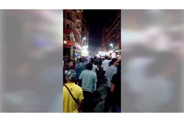 طالبت برحيل السيسي.. مظاهرات في القاهرة وبعض المحافظات استجابة لدعوة الممثل محمد علي (فيديو)