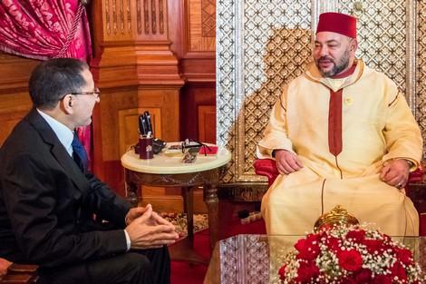 القصر الملكي في الرباط.. الملك يستقبل أعضاء الحكومة الجديدة