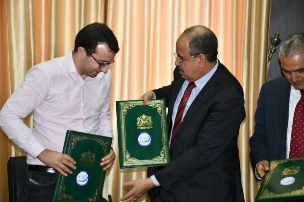 وجدة.. توقيع اتفاقيتي تعاون بين جامعة محمد الأول ومقاولات تعمل في مجالي التكنولوجيا الحديثة والذكاء الاصطناعي