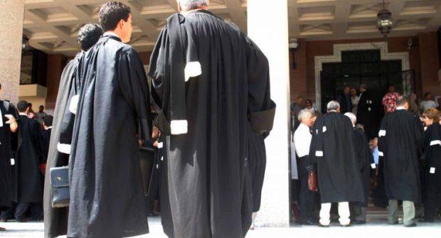 رفضا للمادة 9 من قانون المالية.. المحامون يحتجون أمام البرلمان
