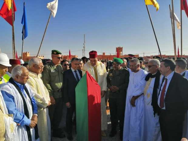 بالصور من إقليم أسا الزاك.. ربط جماعةالمحبس بالشبكة الوطنية للكهرباء