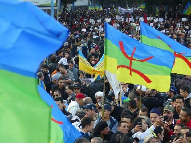 """للدفاع عن الأرض والثروة.. مسيرة """"أكال"""" تجوب شوارع في كازا (صور)"""