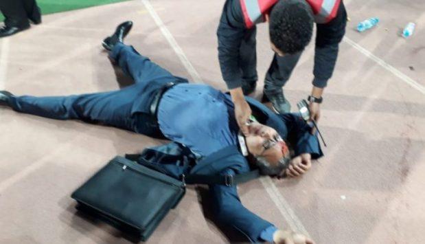 بزاف ديال البسالة.. الاعتداء على مدير حسنية أكادير بعد نهاية المقابلة ضد سان بيدرو (فيديو)