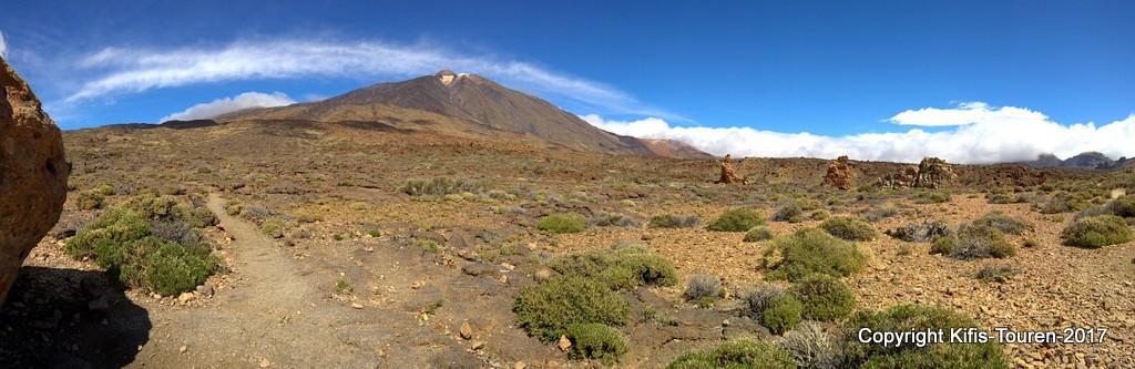 Teneriffa – Rund um die Kathedrale im Nationalpark Teide