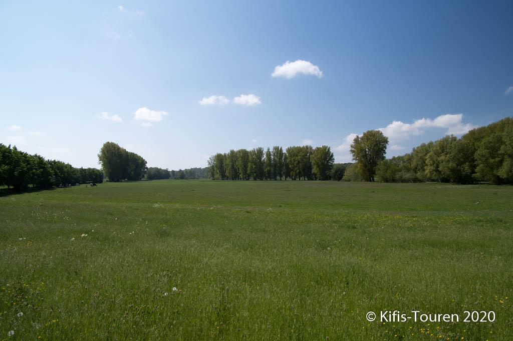 Deichweg Xanten – Rheinberg – Kriemhildmühle